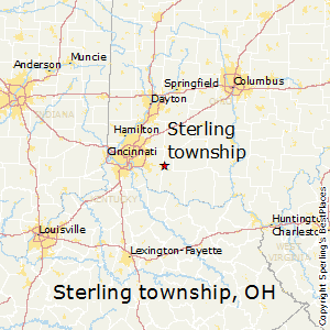 Sterling_township,Ohio Map