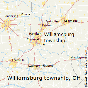 Springfield Township Ohio Map.Best Places To Live In Williamsburg Township Ohio