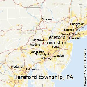 Hereford_township,Pennsylvania Map