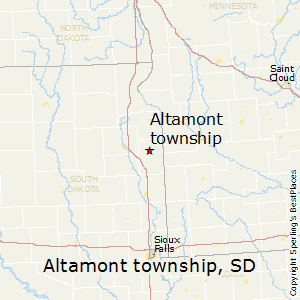 Altamont_township,South Dakota Map