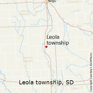 Leola_township,South Dakota Map