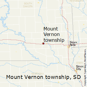 Mount_Vernon_township,South Dakota Map