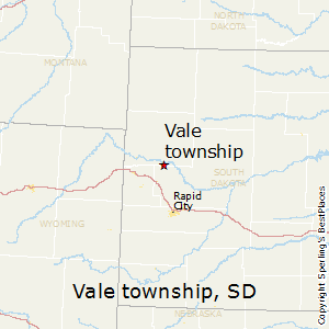 Vale_township,South Dakota Map