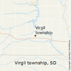 Virgil_township,South Dakota Map