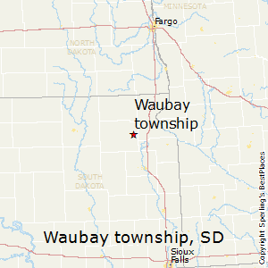 Waubay_township,South Dakota Map