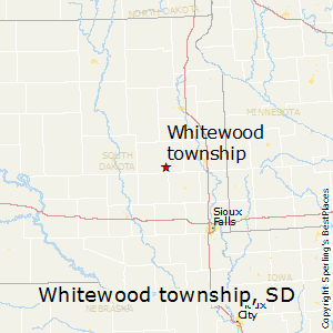 Whitewood_township,South Dakota Map