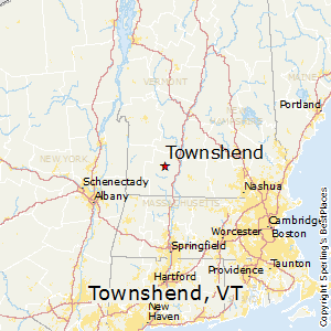 Townshend,Vermont Map