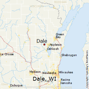 Dale,Wisconsin Map