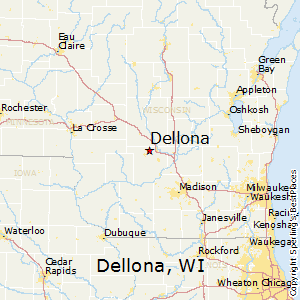 Dellona,Wisconsin Map