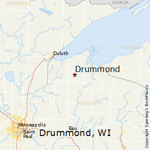 Comparison Drummond Wisconsin Hayward Wisconsin
