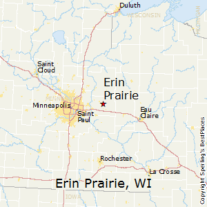 Erin_Prairie,Wisconsin Map