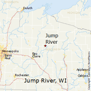 Jump_River,Wisconsin Map