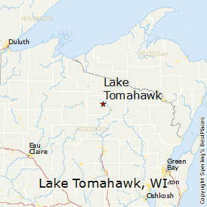Tomahawk Wisconsin Map.Best Places To Live In Lake Tomahawk Wisconsin