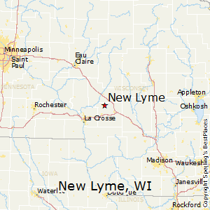 New_Lyme,Wisconsin Map