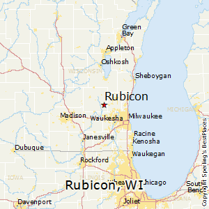 Rubicon,Wisconsin Map