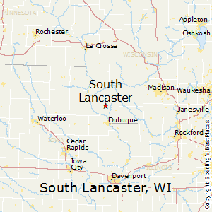 South_Lancaster,Wisconsin Map