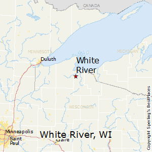 White_River,Wisconsin Map