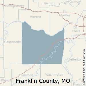 Franklin,Missouri County Map