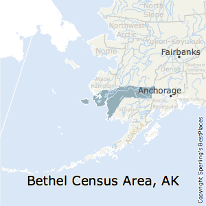 Bethel_Census_Area,Alaska Map