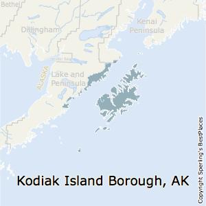 Kodiak Island Alaska Map.Best Places To Live In Kodiak Island Borough Alaska