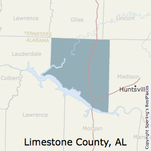 Limestone,Alabama County Map