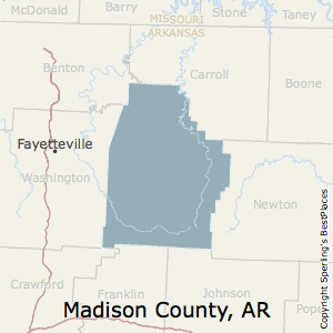 Best Places To Live In Madison County Arkansas