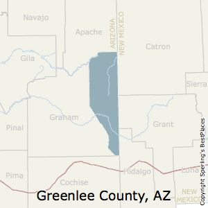 County Map Of Arizona With Cities.Best Places To Live In Greenlee County Arizona