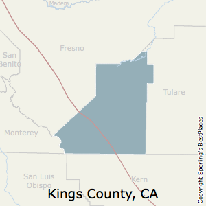 Kings County California Map.Best Places To Live In Kings County California