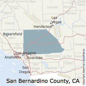 Best Places To Live In San Bernardino County California - How many counties in california