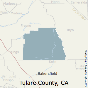Tulare Zip Code Map.Best Places To Live In Tulare County California