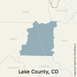 Lake County Colorado Map.Best Places To Live In Lake County Colorado