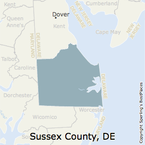 Sussex,Delaware County Map
