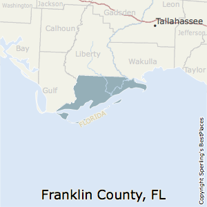 Franklin,Florida County Map