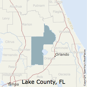 Lake County Florida Map.Best Places To Live In Lake County Florida
