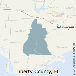 Georgia Florida Map.Best Places To Live In Liberty County Florida