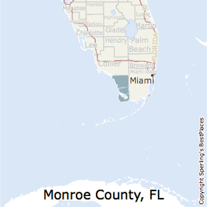 Counties In Florida Map.Best Places To Live In Monroe County Florida