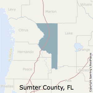 Sumter,Florida County Map