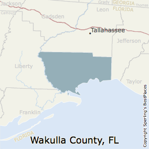 Map Of Wakulla County Florida.Best Places To Live In Wakulla County Florida