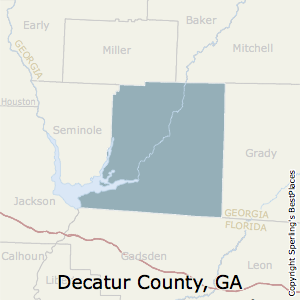 Decatur,Georgia County Map