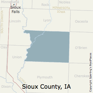 Sioux County Iowa Map.Best Places To Live In Sioux County Iowa