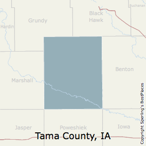 Best Places to Live in Tama County, Iowa