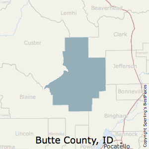 Best Places To Live In Butte County Idaho - Butte county map