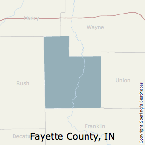 Fayette,Indiana County Map