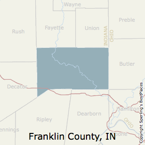 Franklin,Indiana County Map