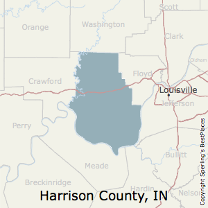 Harrison,Indiana County Map