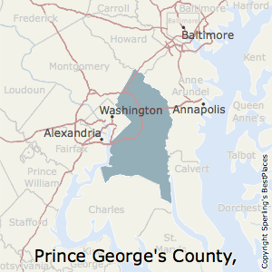 Map Of Prince George\'s County Best Places to Live in Prince George's County, Maryland Map Of Prince George\'s County