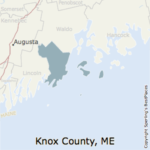 Knox,Maine County Map