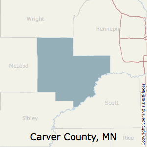 Best places to live in carver county minnesota carverminnesota county map sciox Image collections