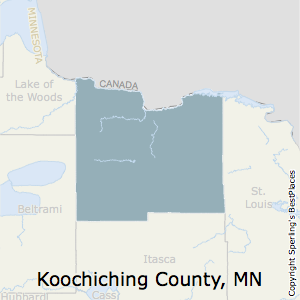 Best Places to Live in Koochiching County, Minnesota on williams county nd map, koochiching county plat, grand rapids county map, little falls mn map, north west minnesota lake map, mississippi river source map, mn county map, minnesota state map, koochiching county property, koochiching county minnesota map, koochiching county mn, itasca state park campground map, itasca county snowmobile map, marcell mn map, koochiching county parcel, koochiching county sheriff, koochiching county gis map, st. paul mn map, aitkin county minnesota map, lake itasca mn map,