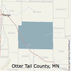 Otter_Tail,Minnesota County Map